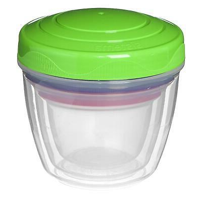3 Go Pots Lunch Box Food Freezer Containers