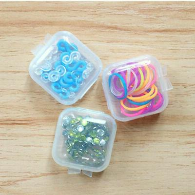 30/90Pcs Clear Small Box Earplugs Box Container