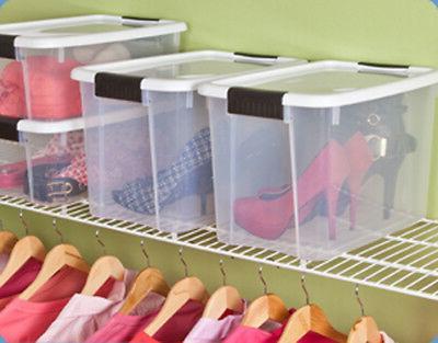 Sterilite 30 Quart Plastic Latching Box