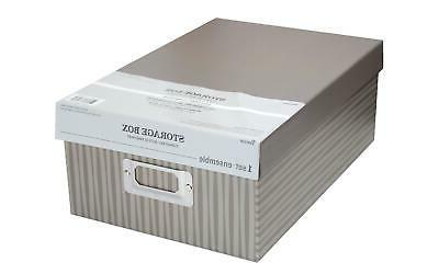 30032641 storage photo box 7 5x4x11 stripes