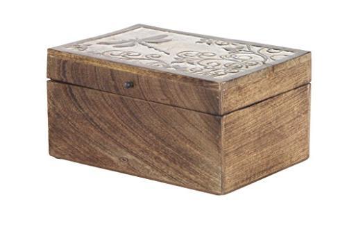 Deco 79 Storage Box, Brown,