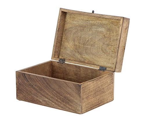 Deco 79 Box, Brown, White