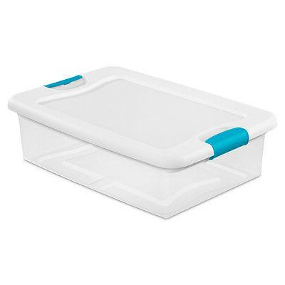 Sterilite Latching Box 6 Pack   1496