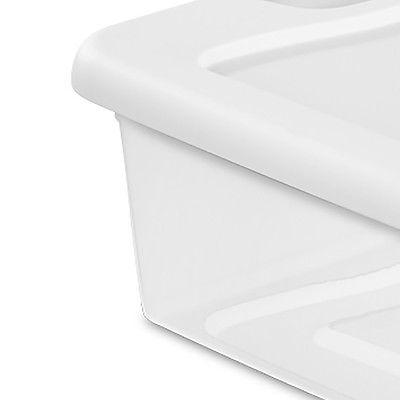 Sterilite 32-Quart Stackable Latching Container, 6 Pack  