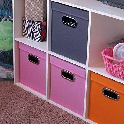 Household Storage with Removable Lids