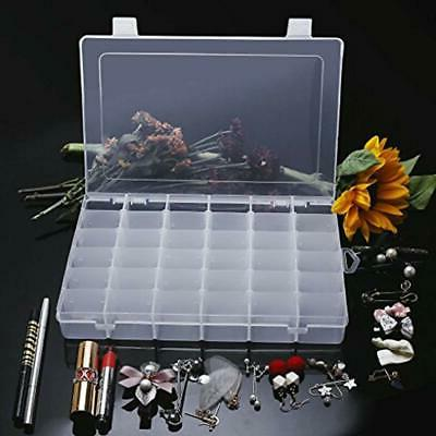 36 & Sewing Supplies Plastic Jewelry Organizer