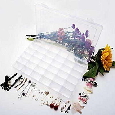 36 Grids Craft & Sewing Plastic Box