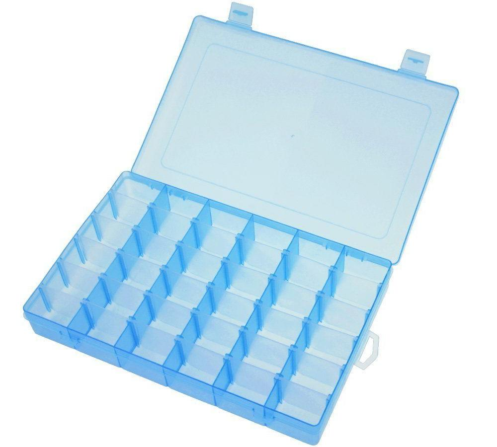 36 Grid Box Storage Organizer Case Display w/ Adjustable