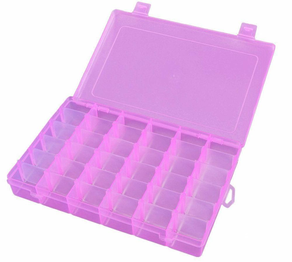 36 Box Storage Organizer Case w/ Big