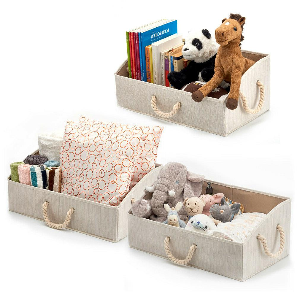 3Pack Foldable Container Bins Box