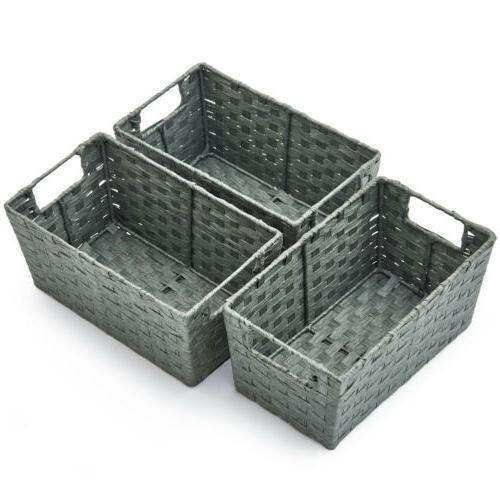 3pc Storage Boxes Organizer