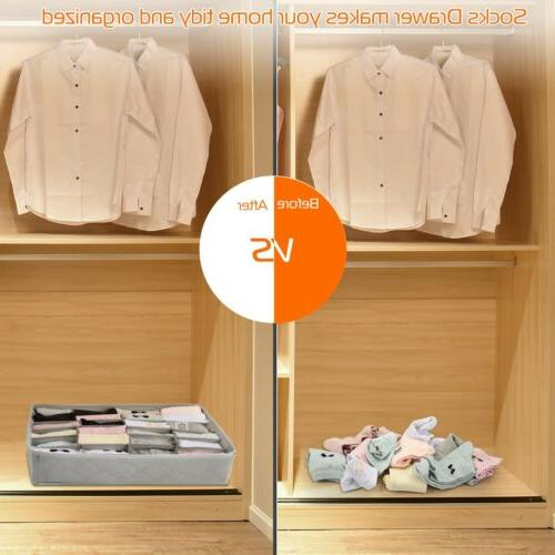 3pcs Drawer Underwear Bra Container Box