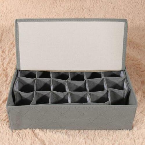 3PCS Drawer Organizer Divider Storage Box For Underwear