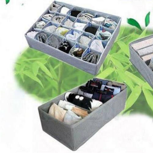 3PCS Foldable Closet Organizer Storage For Sock