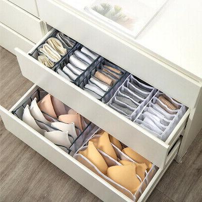 Underwear Compartment Box Foldable Organizer Drawer Unique