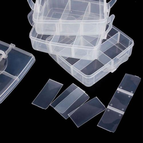 Bead Organizer Container Craft Tool Case
