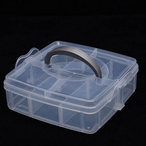 2 Storage Jewelry Case Holder