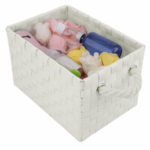 4 Drawer Storage Weave Cart Office Organizer