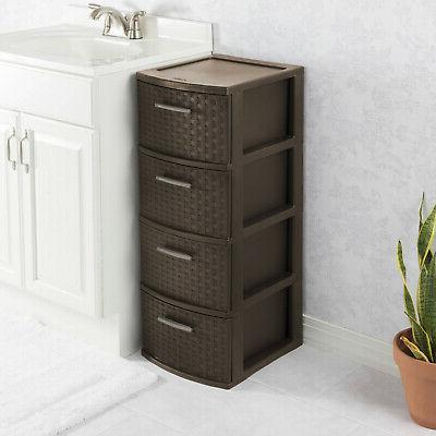 4 Storage Cabinet Clothes Box