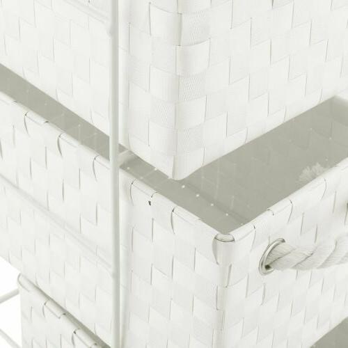 4 Nylon Bin White Desktop BA