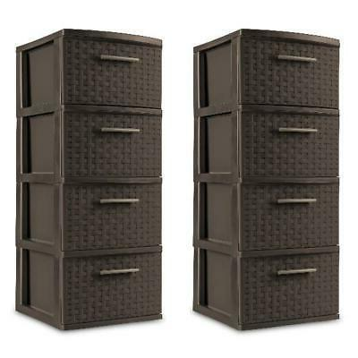 4 Drawer Storage Cabinet File Chest Dorm 2