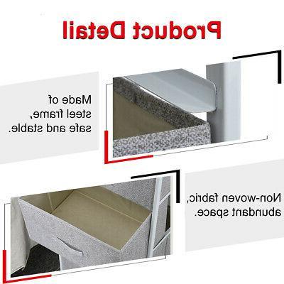 4-layer Storage Box Cabinet Rack Shelf