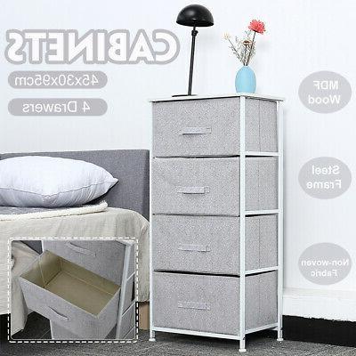 4-layer Storage Box Cabinet Organizer Rack Wardrobe