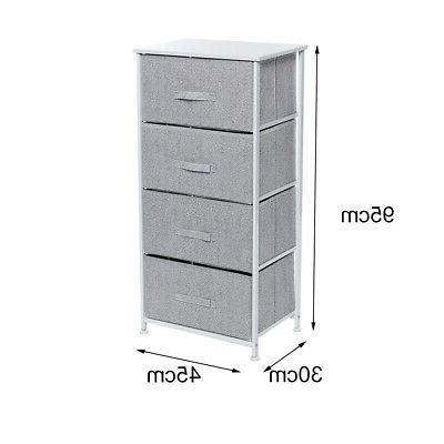 4-layer Drawer Cabinet Organizer Rack Wardrobe Shelf