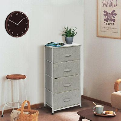 4 layer drawer storage box cabinet clothes