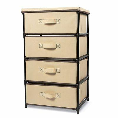 4 layered storage bin cabinet