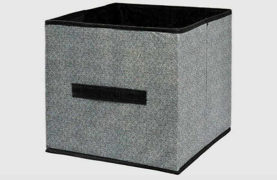 4 pack foldable storage cubes collapsible fabric