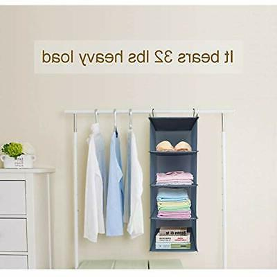 4-Shelf Closet Organizer, Clothes ""