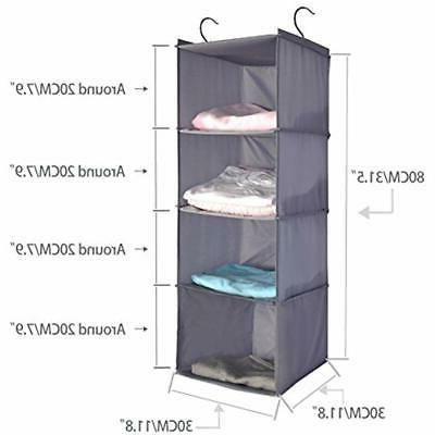 4-Shelf Systems Hanging Organizer, Storage ""