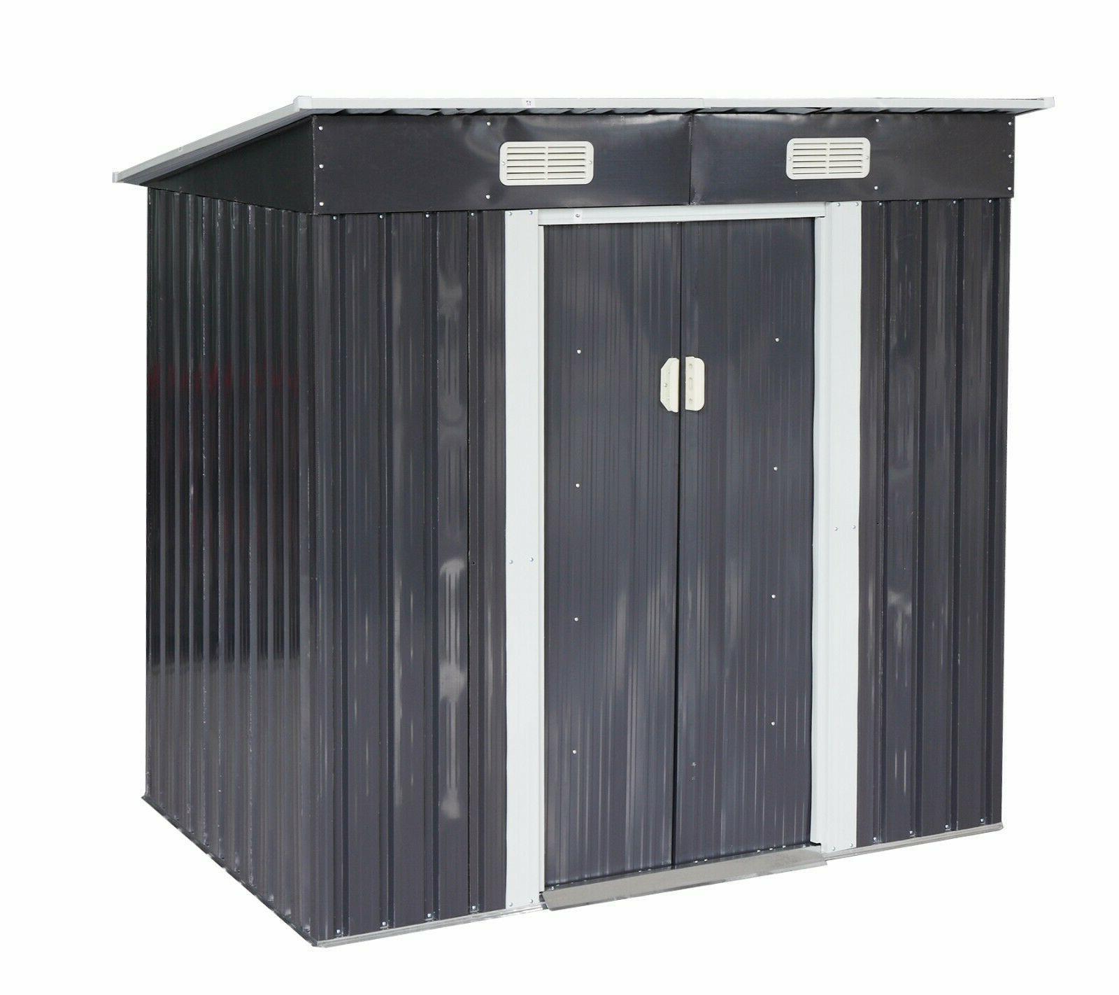 4 Outdoor Storage Box Backyard Garden Gray