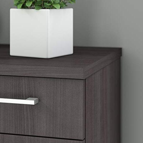 Bush Business Furniture Series 30W Cabinet in Storm
