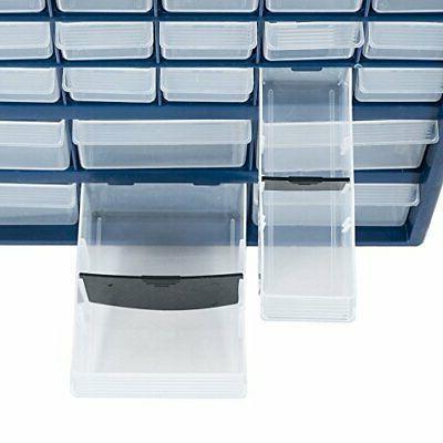 42-Drawer Tool Home Bin Box Cabinet