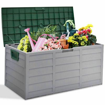 """44"""" Deck Outdoor Shed Tool Bench Container 70 Gallon"""