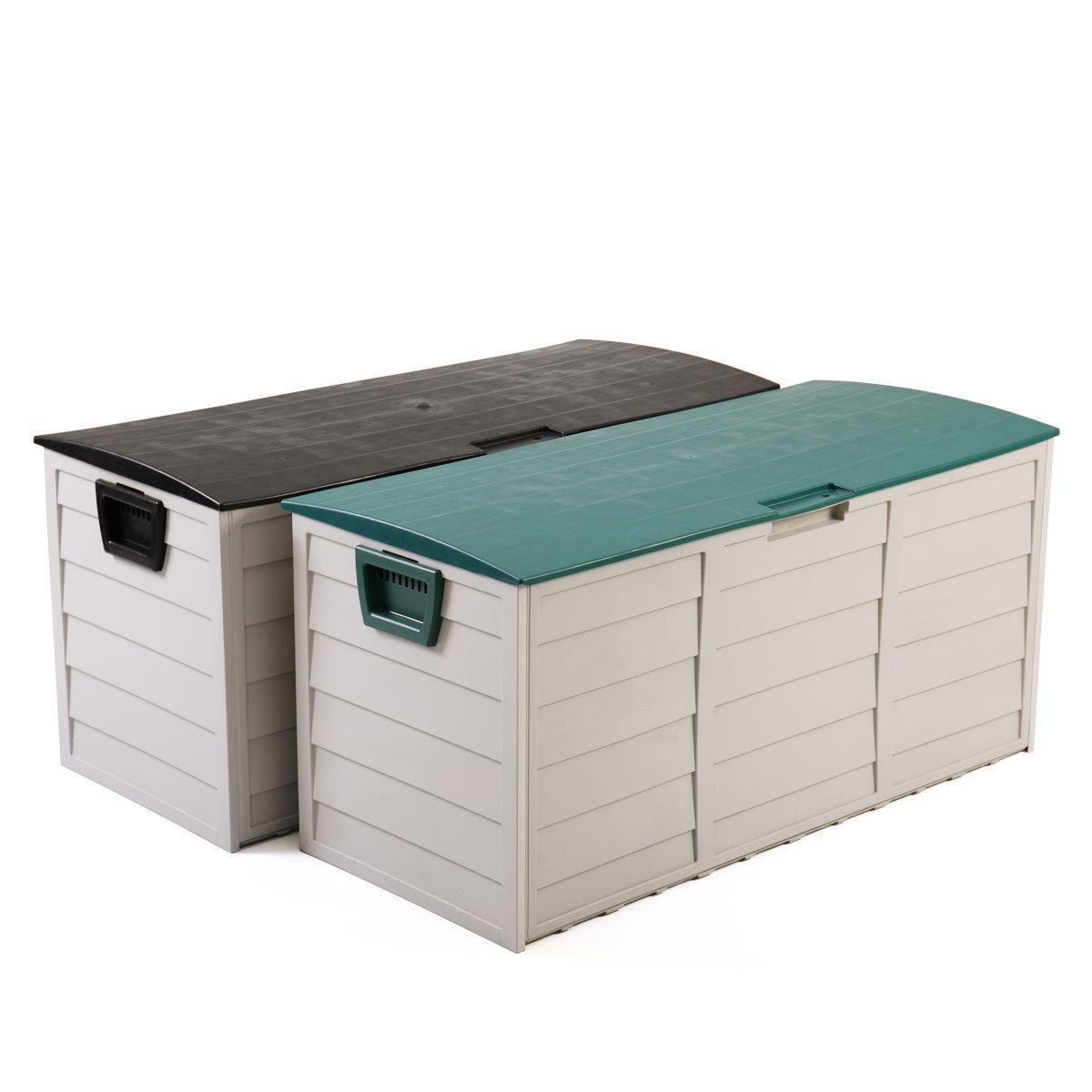 44 deck storage box outdoor patio garage