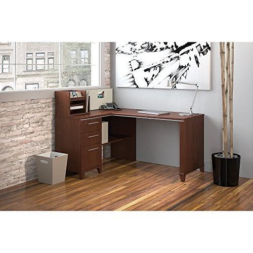 Bush Business Collection Corner Desk in Harvest