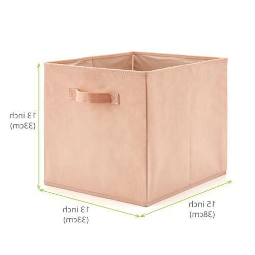 EZOWare 4pc Basket Bins, Cube Boxes IKEA Rack