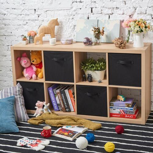 EZOWare Fabric Basket Bins, Cube Boxes IKEA Shelves Rack