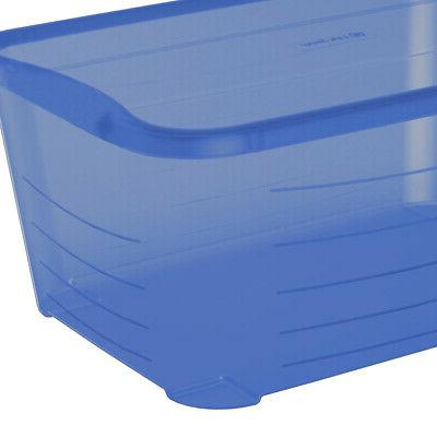 Life 5.5 Rectangular Blue Storage box
