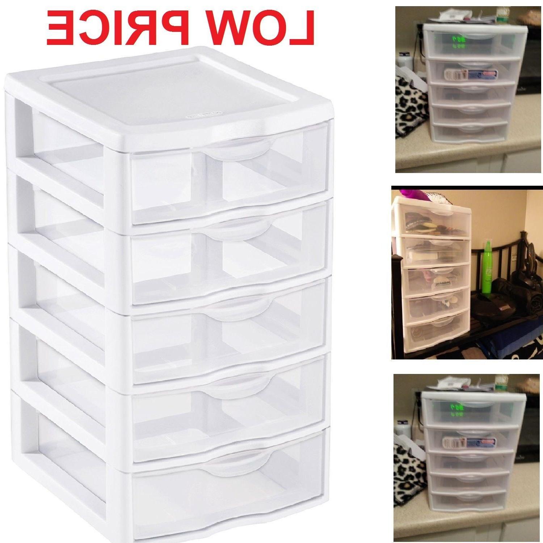 5 Drawer Organizer Box Dresser
