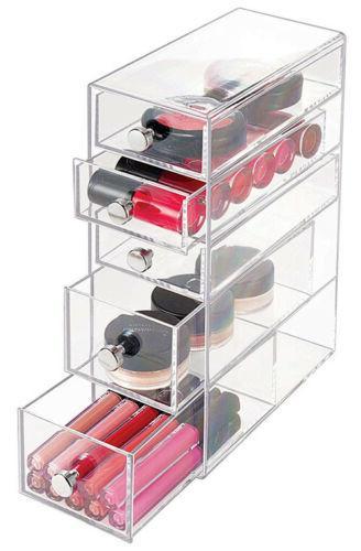 InterDesign 5 Plastic Vanity Narrow Organizer 39560