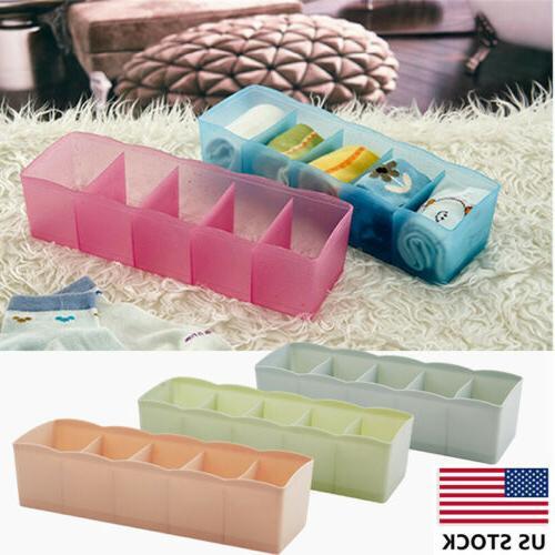 5 Waterproof Desk Underwear Socks jewelry Box US