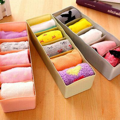 5 grids storage boxes waterproof desk drawer