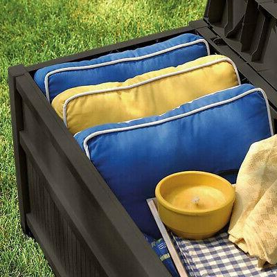 50 Outdoor Storage Deck Yard Brown