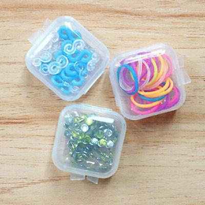 50 x Clear Plastic Small Box