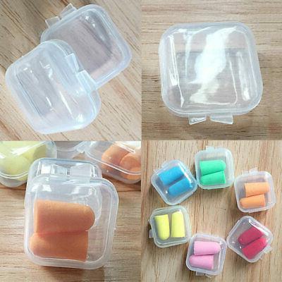 50 x Plastic Small Jewelry Earplugs Storage