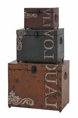 53854 metal trunks